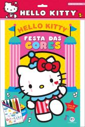 Hello Kitty - com giz de cera