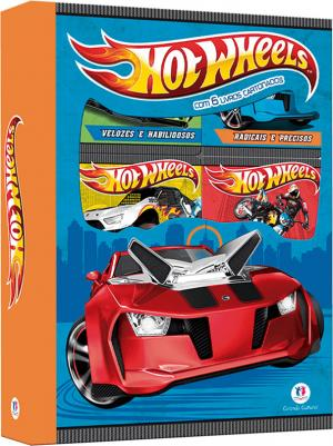 Hot Wheels - Box 6 minilivros